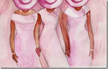Breast Cancer Month… Pink Diva Art! | Double Latte Books